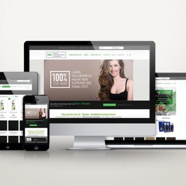 Responsive webshop hairextensionskampen