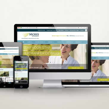 Website Mohs klinieken